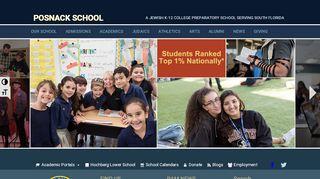 Posnack School Portal
