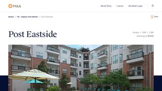 Post Eastside Resident Portal