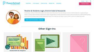 Powerschool Admin Portal