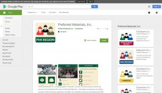 Preferred Materials Employee Portal