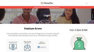 Prime Employee Portal