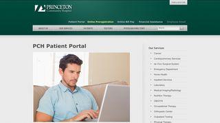 Princeton Community Hospital Patient Portal