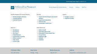 Professional Case Management Employee Portal