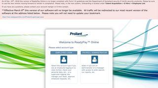 Proliant Employee Portal