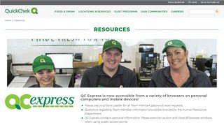 Quickchek Express Portal Login