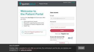 Quiron Salud Portal