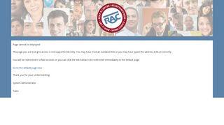 Rac Employee Portal