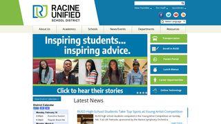 Racine Unified Employee Portal