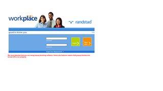 Randstad Web Portal