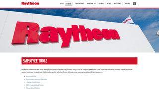 Raytheon Employee Portal