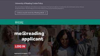 Reading Applicant Portal