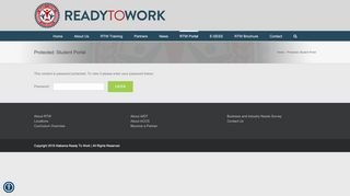 Ready To Work Portal