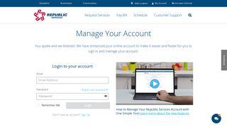 Republic Services Employee Portal