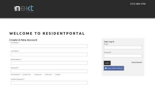 Resident Portal The Next