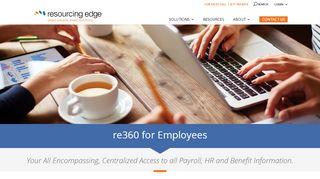 Resourcing Edge Employee Portal