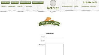 Retreat At Barton Creek Resident Portal