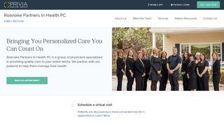 Roanoke Partners In Health Portal