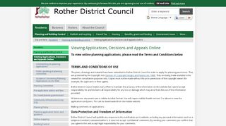 Rother Planning Portal
