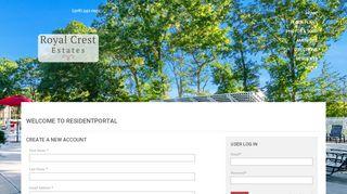 Royal Crest Resident Portal