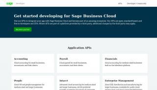 Sage Developer Portal