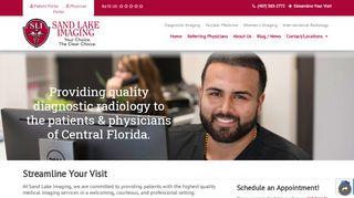 Sand Lake Imaging Patient Portal