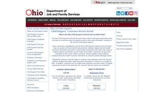 Sandusky County Child Support Web Portal