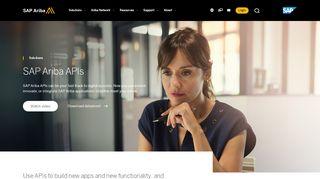 Sap Ariba Developer Portal