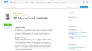 Sap Enterprise Portal Tutorial