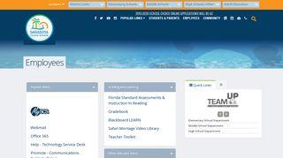 Sarasota County Schools Employee Portal