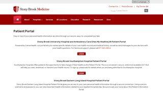 Sb Patient Portal