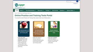 Sbac Practice Portal