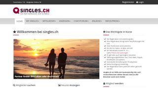 Schweizer Dating Portal