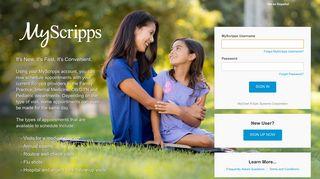 Scripps Patient Portal