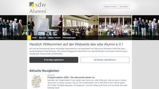 Sdw Alumni Portal