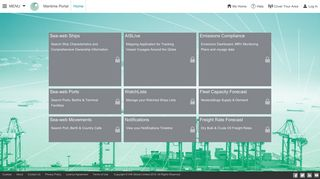 Sea Web Portal