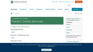 Seattle Children's Patient Portal