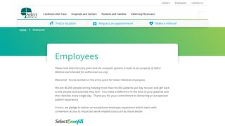 Select University Portal