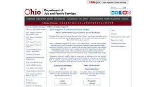 Seneca County Child Support Web Portal