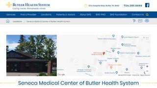Seneca Medical Center Patient Portal
