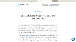 Seo For Job Portal