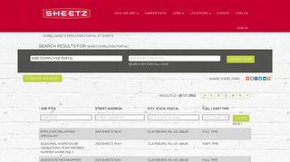 Sheetz Employee Portal