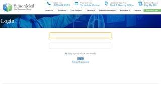Simonmed Patient Portal
