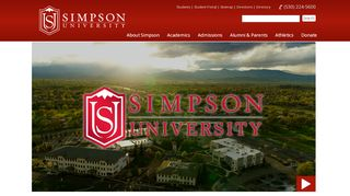 Simpson University Portal