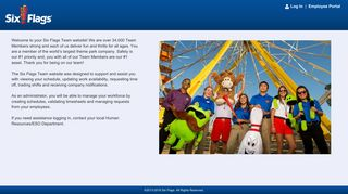 Six Flags Employee Portal
