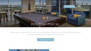 Skyhouse Orlando Resident Portal