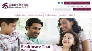 Slocum Dickson Patient Portal