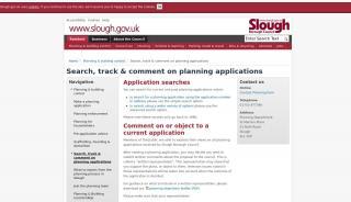 Slough Planning Portal