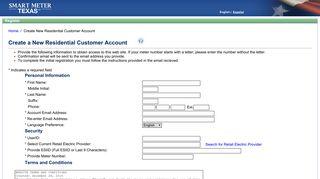 Smart Meter Web Portal