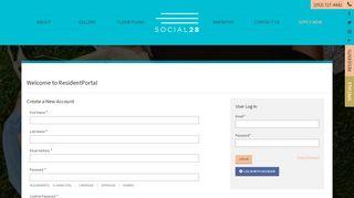 Social 28 Resident Portal