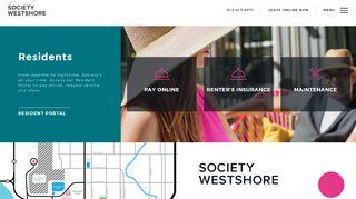 Society Westshore Resident Portal